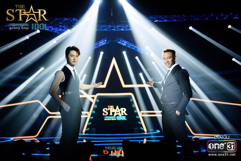 """เปิดตัวพิธีกรคู่หูคู่ใหม่บนเวที """"The Star Idol"""""""