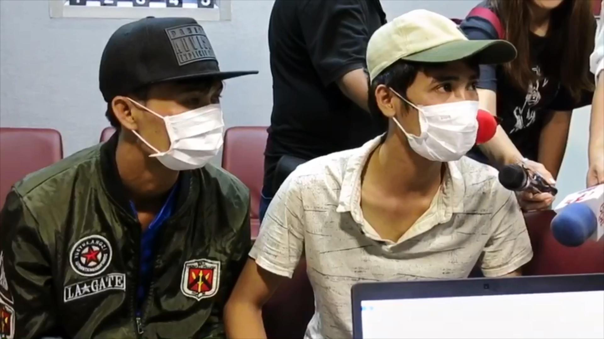 ผู้ต้องหาชาวเวียดนามทั้ง 2 คน